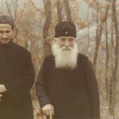 Ava Justin and hieromonk Athanasius